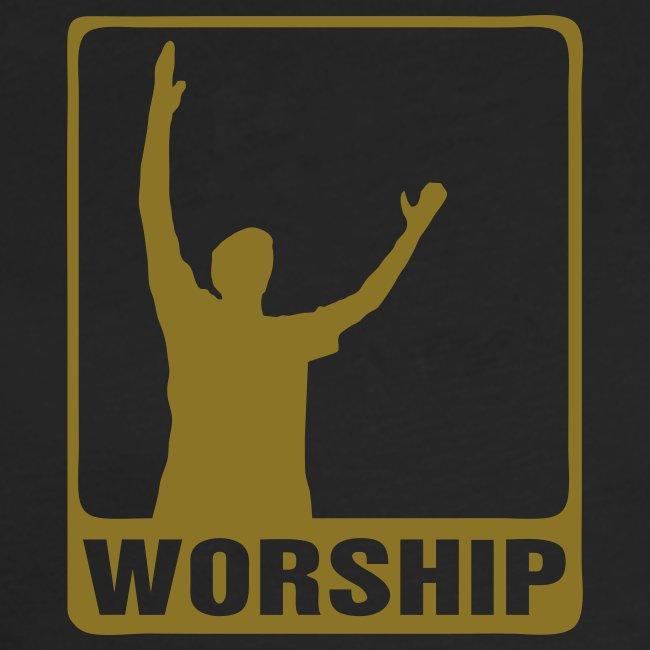 WORSHIP-black gold (Boys)