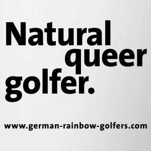 Natural Queer Golfer Polo - Tasse