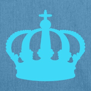 Light blue Crown Kid's Shirts  - Shoulder Bag made from recycled material