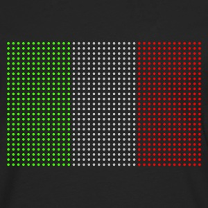 Black geo_flag_italy_plsph_3c Men's Tees (short-sleeved) - Men's Premium Longsleeve Shirt