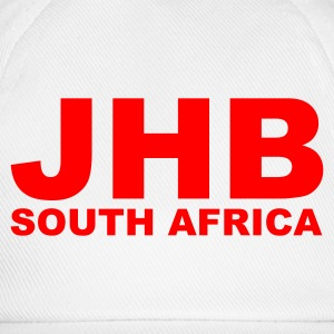 White JHB, Johannesburg South Africa Men's Tees - Baseball Cap