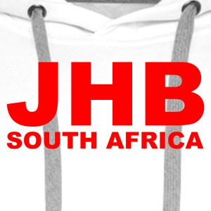 White JHB, Johannesburg South Africa Men's Tees - Men's Premium Hoodie