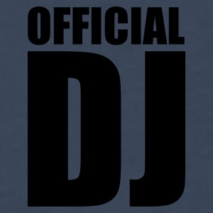 Navy Official DJ Caps & Hats - Men's Premium Longsleeve Shirt