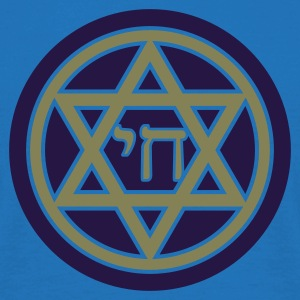 Chai (Life) Star of David - Men's T-Shirt
