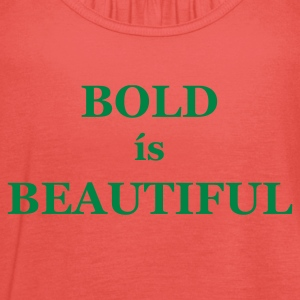 Chocolate/sun Bold is Beautiful Men's Tees (short-sleeved) - Women's Tank Top by Bella