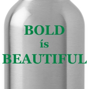 Chocolate/sun Bold is Beautiful Men's Tees (short-sleeved) - Water Bottle
