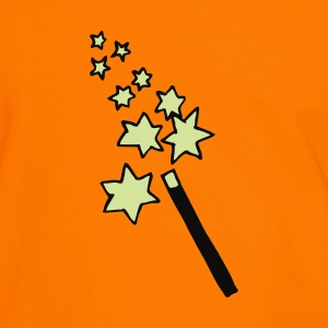 Brown magic - wand - wizard - witch  Jumpers  - Men's Ringer Shirt