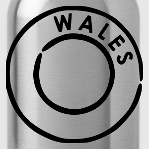 Red Wales Men's Tees (short-sleeved) - Water Bottle