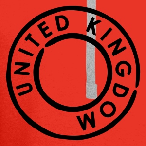 Rood UK - United Kingdom Kinder shirts - Mannen Premium hoodie