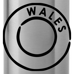Red Wales Kid's Shirts  - Water Bottle
