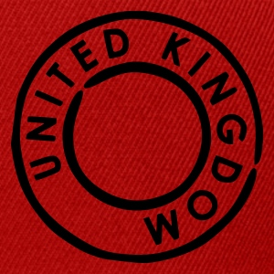 Red/white United Kingdom - UK Bags  - Snapback Cap