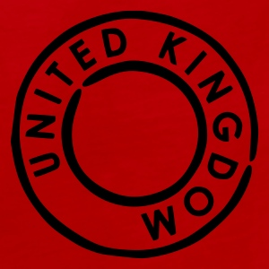 Rouge/blanc UK - United Kingdom Sacs - Débardeur Premium Homme