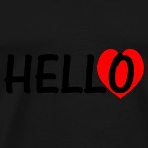 Hello There! - Mannen Premium T-shirt