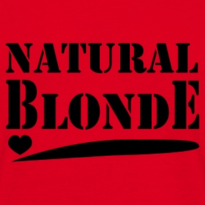 Natural Blonde - Mannen T-shirt
