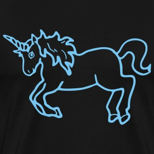 Navy unicorn_new Kinder Pullover - Männer Premium T-Shirt
