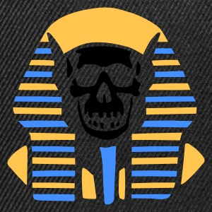 egypt_skull_on_black T-Shirts - Snapback Cap