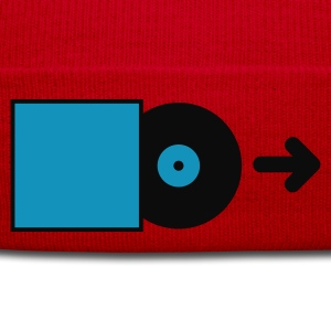 Rosso DJ - Vinyl - Save the Vinyl! T-shirt - Cappellino invernale