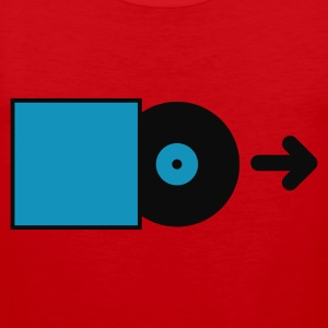 Rouge DJ - Vinyl - Save the Vinyl! T-shirts - Débardeur Premium Homme
