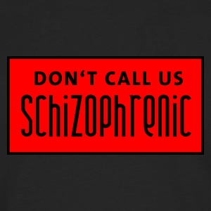 dont_call_us_schizophrenic T-skjorter - Premium langermet T-skjorte for menn