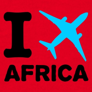 Red I fly Africa Jumpers - Men's T-Shirt