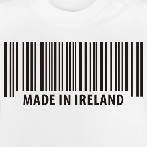 Weiß Made in Ireland Kinder Shirts - Baby T-Shirt