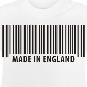Weiß Made in England Kinder Shirts - Baby T-Shirt