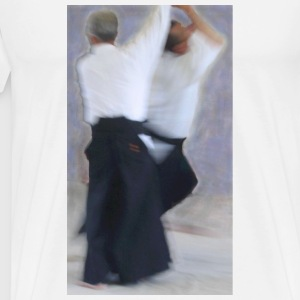 White Kokyu Painting Mugs  - Men's Premium T-Shirt