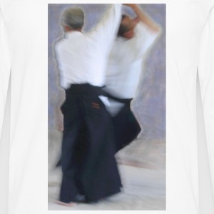 White Kokyu Painting Mugs  - Men's Premium Longsleeve Shirt