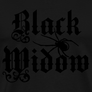 Black Widow - Männer Premium T-Shirt
