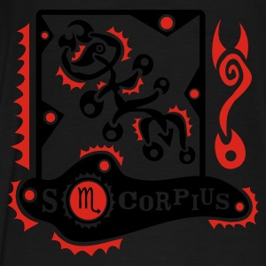 Sterrenbeeld Scorpius T-Shirt Design Sweaters - Mannen Premium T-shirt