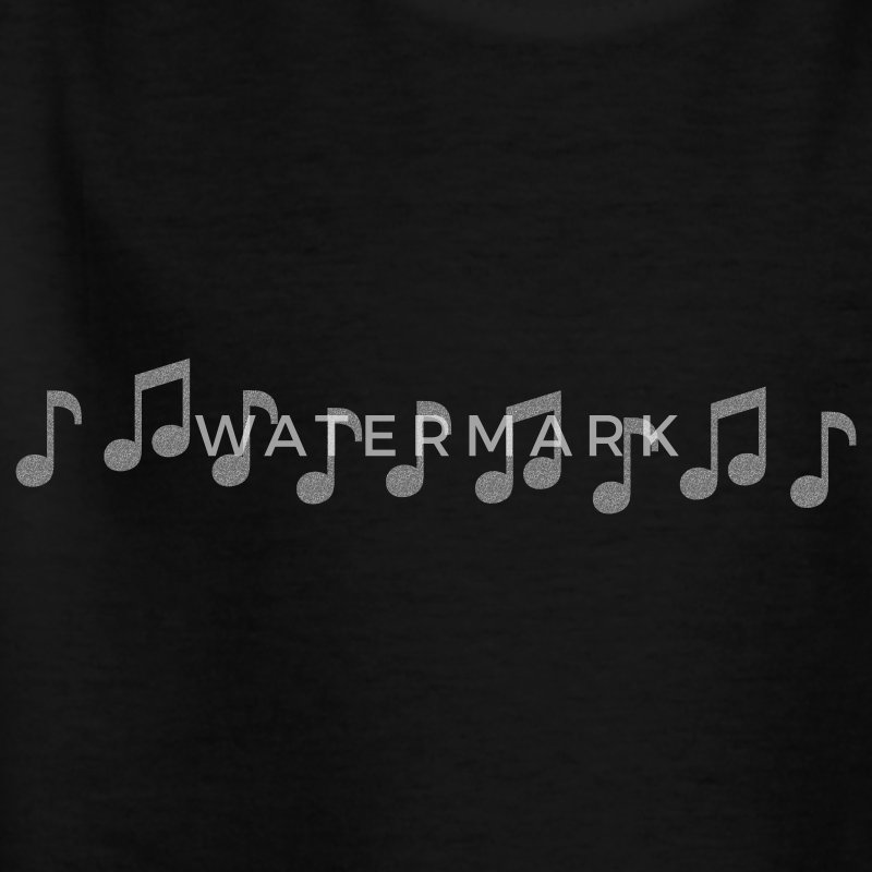 Musiknoten - Teenager T-Shirt