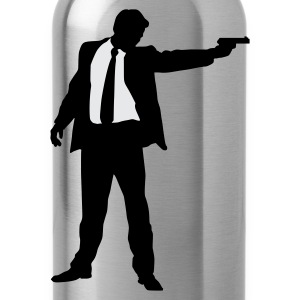 Suited Gun - Water Bottle