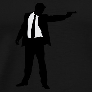 Suited Gun - Men's Premium T-Shirt