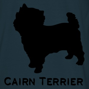 Navy cairnterrier_01 Coats & Jackets - Men's T-Shirt