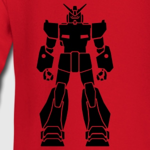 Red Gundam_1 Kid's Shirts  - Baby Long Sleeve T-Shirt