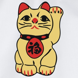 good fortune cat - maneki neko - Mochila saco