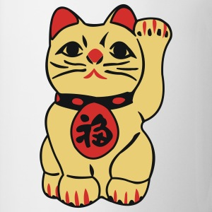 good fortune cat - maneki neko - Taza