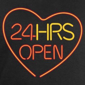 24 HRS OPEN for LOVE - Sweat-shirt Homme Stanley & Stella