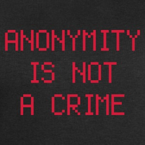 anonymity is not a crime - Bluza męska Stanley & Stella