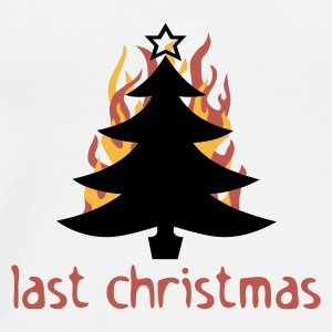 last christmas - Men's Premium T-Shirt
