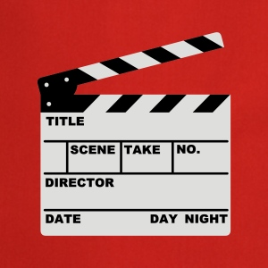 clapperboard (writable flex) - Fartuch kuchenny
