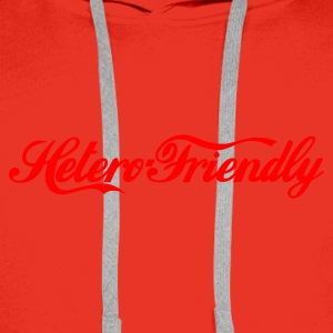 hetero friendly - Premiumluvtröja herr