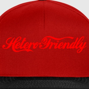 hetero friendly - Snapback Cap