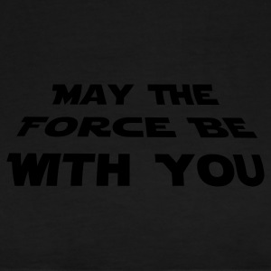 Schwarz may the force be with you Pullover - Männer Premium T-Shirt