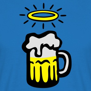 holy_beer  Aprons - Men's T-Shirt