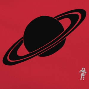 Red Saturn - Planet - Astronaut - Space Kid's Tops - Retro Bag