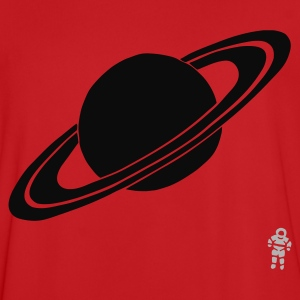 Rood Saturn - Planet - Astronaut - SpaceSaturn - Planet - Astronaut - Space Kinder sweaters - Mannen voetbal shirt