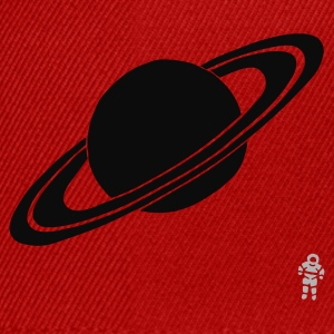 Red Saturn - Planet - Astronaut - Space Kid's Tops - Snapback Cap