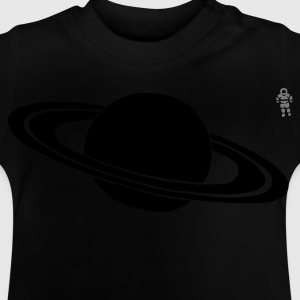 Navy Saturn - Astronaut - Space - Planet Kinder sweaters - Baby T-shirt