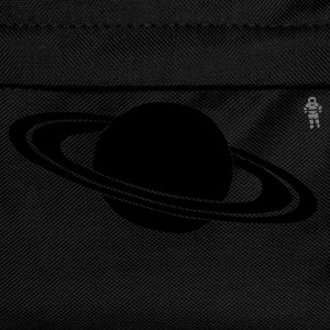 Navy Saturn - Astronaut - Space - Planet Kid's Tops - Kids' Backpack